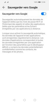 Huawei Y5 (2019) - Données - créer une sauvegarde avec votre compte - Étape 7