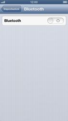 Apple iPhone 5 - Bluetooth - Collegamento dei dispositivi - Fase 6