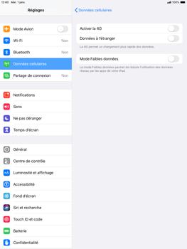 Apple iPad Air (2019) - iPadOS 13 - Réseau - activer 4G - Étape 5