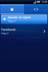 Sony Xperia X8 - Internet - Navigation sur Internet - Étape 5