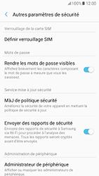 Samsung Galaxy A5 (2017) (A520) - Sécuriser votre mobile - Personnaliser le code PIN de votre carte SIM - Étape 6