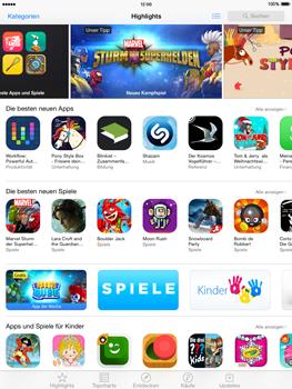 Apple iPad mini - iOS 8 - Apps - Nach App-Updates suchen - Schritt 3