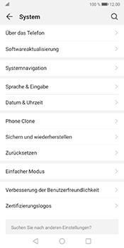 Huawei Mate 10 Pro - Android Pie - Fehlerbehebung - Handy zurücksetzen - Schritt 6