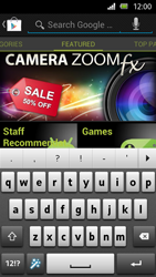 Sony Xperia U - Applications - Installing applications - Step 19