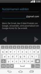 LG D722 G3 S - Apps - Konto anlegen und einrichten - Schritt 8