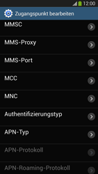 Samsung SM-G3815 Galaxy Express 2 - MMS - Manuelle Konfiguration - Schritt 12
