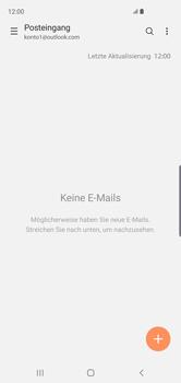 Samsung Galaxy S10 - E-Mail - Konto einrichten (outlook) - 14 / 16
