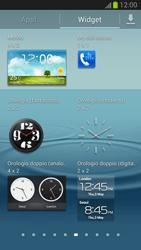 Samsung Galaxy S III - Operazioni iniziali - Installazione di widget e applicazioni nella schermata iniziale - Fase 5