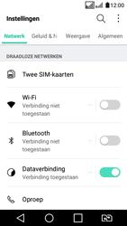LG K4 2017 - bluetooth - aanzetten - stap 3