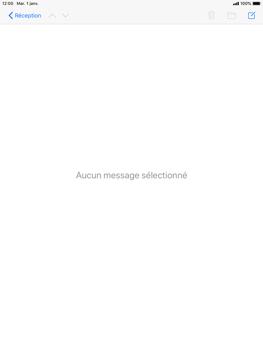 Apple iPad Pro (9.7) - iPadOS 13 - E-mail - envoyer un e-mail - Étape 15