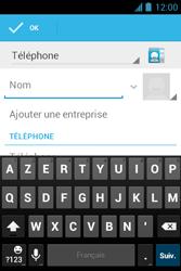 Bouygues Telecom Bs 351 - Contact, Appels, SMS/MMS - Ajouter un contact - Étape 5
