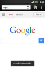 HTC Desire 500 - Internet - Internet browsing - Step 8