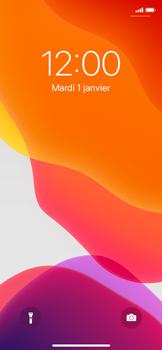 Apple iPhone X - iOS 13 - Téléphone mobile - Comment effectuer une réinitialisation logicielle - Étape 4