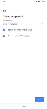Sony Xperia 5 - E-mail - manual configuration - Step 20
