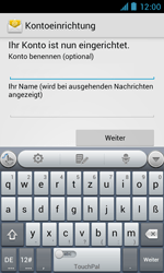 ZTE Blade III - E-Mail - Manuelle Konfiguration - Schritt 16