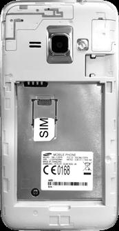 Samsung Galaxy J1 (2016) - SIM-Karte - Einlegen - 3 / 8