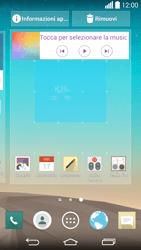 LG G3 - Operazioni iniziali - Installazione di widget e applicazioni nella schermata iniziale - Fase 6