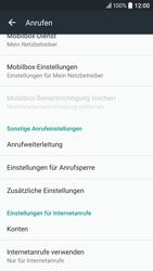HTC 10 - Anrufe - Rufumleitungen setzen und löschen - Schritt 7