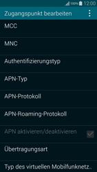 Samsung Galaxy Alpha - Internet - Apn-Einstellungen - 12 / 29