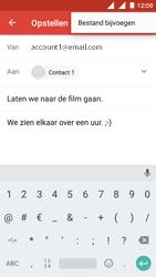 Nokia 3 (Dual SIM) - E-mail - Bericht met attachment versturen - Stap 10