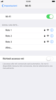 Apple iPhone 6 Plus - iOS 11 - WiFi - Configurazione WiFi - Fase 5