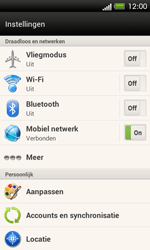 HTC C525u One SV - bluetooth - aanzetten - stap 4