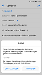 Huawei Honor 9 - E-Mail - E-Mail versenden - 13 / 19