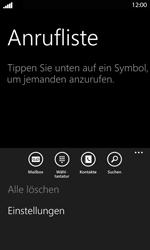 Nokia Lumia 820 LTE - Anrufe - Rufumleitungen setzen und löschen - Schritt 5