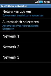 Samsung S5660 Galaxy Gio - Netwerk - gebruik in het buitenland - Stap 9