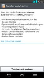 LG G2 - Fehlerbehebung - Handy zurücksetzen - Schritt 9