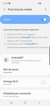 Samsung Galaxy S10e - WiFi - Comment activer un point d'accès WiFi - Étape 13