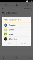 Blackphone Blackphone 4G (BP1) - Contacten en data - Contacten overzetten via Bluetooth - Stap 8