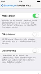 Apple iPhone 5c - Netzwerk - Netzwerkeinstellungen ändern - Schritt 5