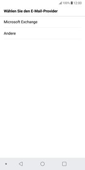 LG G6 - Android Oreo - E-Mail - Konto einrichten (outlook) - Schritt 6