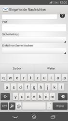 Sony Xperia E4G - E-Mail - Konto einrichten - 2 / 2