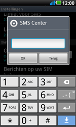 LG P990 Optimus 2X Speed - SMS - handmatig instellen - Stap 5