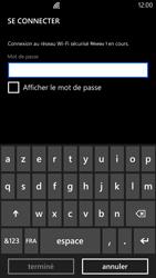 Nokia Lumia 1320 - WiFi - Configuration du WiFi - Étape 7