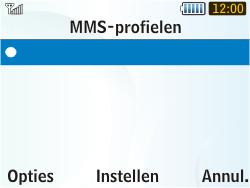 Samsung S3350 Chat 335 - MMS - Handmatig instellen - Stap 16