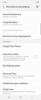 Samsung Galaxy Z Flip Single-SIM + eSIM (SM-F700F) - Beveiliging en ouderlijk toezicht - Zoek mijn mobiel inschakelen - Stap 5