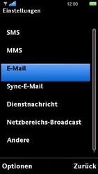 Sony Ericsson U5i Vivaz - E-Mail - Konto einrichten - Schritt 5