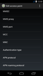 Acer Liquid Jade S - MMS - Manual configuration - Step 13