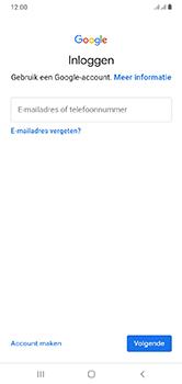 Samsung Galaxy A10 - apps - account instellen - stap 5