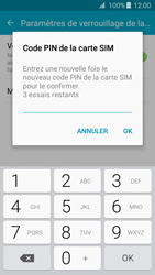 Samsung Galaxy J3 (2016) - Sécuriser votre mobile - Personnaliser le code PIN de votre carte SIM - Étape 10
