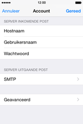Apple iPhone 4s iOS 8 - E-mail - Account instellen (IMAP zonder SMTP-verificatie) - Stap 18