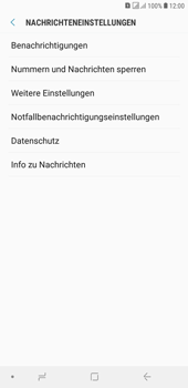 Samsung Galaxy J4+ - SMS - Manuelle Konfiguration - Schritt 6