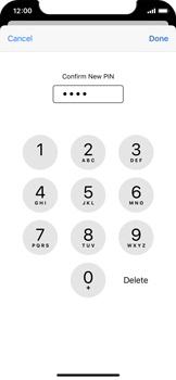 Apple iPhone 11 Pro - Security - Set the PIN code for your SIM card - Step 11