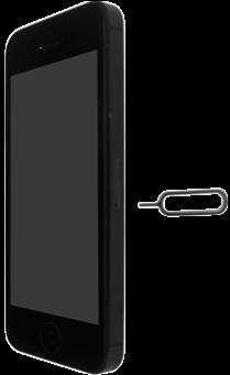 Apple iPhone SE - SIM-Karte - Einlegen - Schritt 2