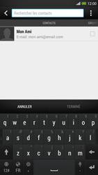 HTC One Max - E-mail - envoyer un e-mail - Étape 5