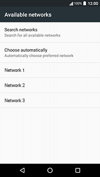 Acer Liquid Zest 4G Plus - Network - Manually select a network - Step 8
