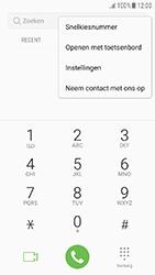 Samsung Galaxy J3 (2017) - voicemail - handmatig instellen - stap 5